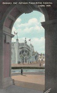 LONDON , England , 1908 ; Machinery Hall Entrance, Franco-British Exhibition
