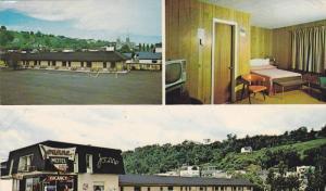 3-views,  Motel Joanne Hotel,  Ste-Anne de Beaupre,  Quebec,  Canada,  PU_1989