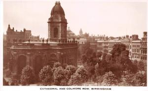 Birmingham, Cathedral and Colmore Row General view Catedral Dom