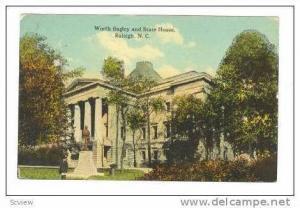 Worth Bagley & State House,Raleigh,North Carolina,1918