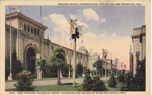 Panama-Pacific International Expo 1915 San Francisco East Facade Palace of Va...