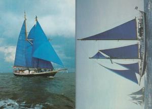De Eendracht Dutch Training Long Ship 2x Postcard s