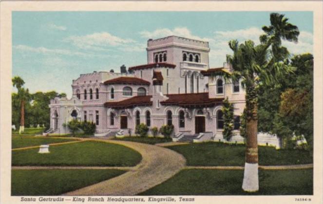 King Ranch Texas >> Texas Kingsville Santa Gertrudis King Ranch Headquarters