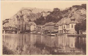 DINANT, Namur, Belgium, 1900-1910's; Hotel De Ville Et Citadelle