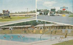 CLAXTON , Georgia ,1940-60s ; Miami Motel, Restaurant & Swimming Pool