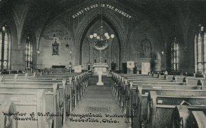 ROSEVILLE , Ohio, 1901-07 ; St. Paul's Evangelical Church Interior