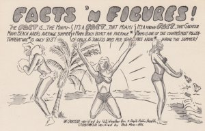 Pin-up , 30-40s ; Miami , Florida Facts & Figures , Miami Colonial Hotel