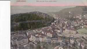 KARLSBAD, Czech Republic, 1900-1910's; Blick Von Der Franz Josefs, Hohe