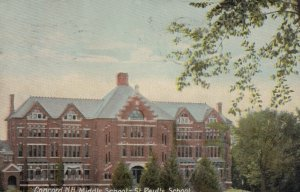 CONCORD, New Hampshire, 1910; Middle School - St. Paul's School