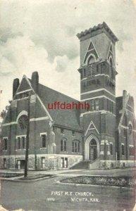 FIRST METHODIST EPISCOPALIAN CHURCH, WICHITA, KS 1911