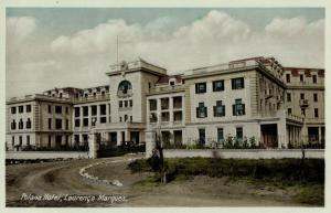 mozambique, LOURENÇO MARQUES, Polonia Hotel (1930s) Postcard