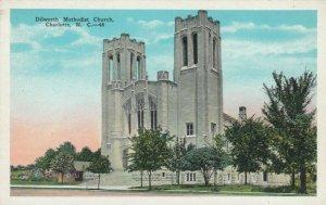 CHARLOTTE , North Carolina; 1910s; Dilworth Methodist Church