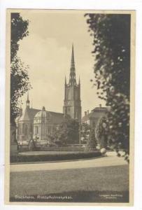 Stockholm. Riddarholmskyrkan, 1910-30s