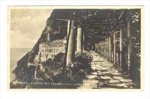 RP  AMALFI , Italy, PU-1907   L´Hotel dei Cappuccini e colonnato