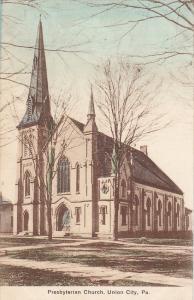 Presbyterian Church, Union City, Pennsylvania, 1900-1910s