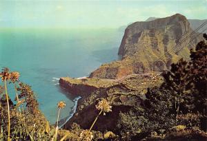 Portugal Porto da Cruz (Madeira) View of Penha d'Aguia