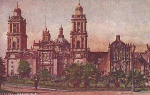 The Catedral, Mexico, D. F. 1900-1910s