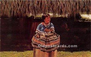Everglades Seminole Indians, Florida USA Unused
