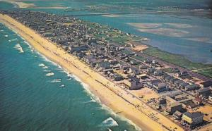 Aerial View of Ocean City, OCEAN CITY, Maryland, 40-60´s