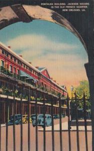 Louisiana New Orleans Ponatalba Building Jackson Square