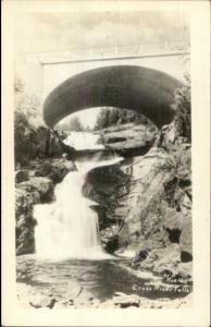 Schroeder, Minnesota? Cross River Falls Real Photo Postcard