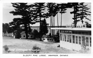 Arnprior Ontario Canada~Sleepy Pine Lodge~Gust Cottages & Lodge~1950s RPPC