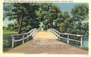 Old North Bridge Concord MA Unused