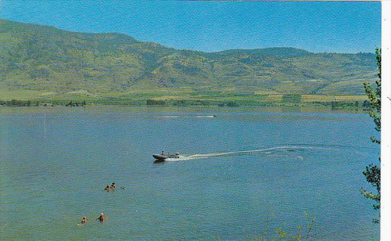 Canada Swimming Boatigng and Skiing at Osoyoos On The Lake British Columbia