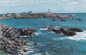 Neil's Harbour, An active fishing village near the Cabot Trail,  Cape Breton,...