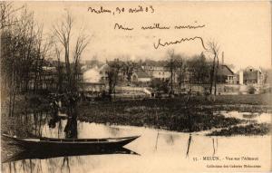 CPA   Melun - Vue sur l'Amont    (436749)