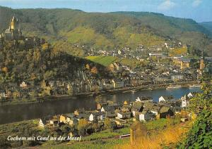 Cochem mit Cond an der Mosel River General view