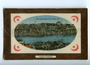 241111 TURKEY CONSTANTINOPLE Corne d'or Vintage embossed