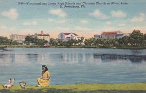 Florida St Petersburg Vocational & Junior High Schools and Christian Church O...
