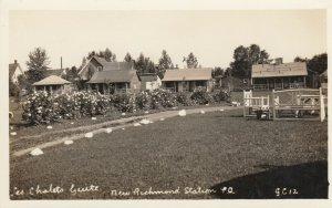 NEW RICHMOND Station, Quebec , Canada, 1910-20s; Les Chalets Guite