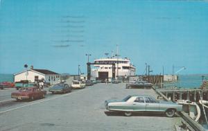 NOVA SCOTIA, Canada; Northumberland Coast, Dock of Caribou, near Pictau, Car ...