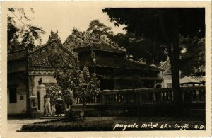 CPA AK INDOCHINA Real Photo on Postcard VIETNAM (956921)