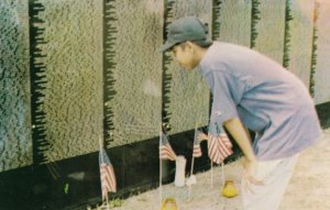 Mini Viet Nam Wall Comes to GUAM , 1993