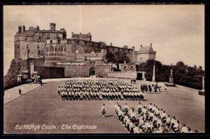 The Esplanade,Edinburgh Castle,Edinburg,Scotland,UK