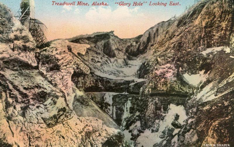 AK - Treadwell Mine. Glory Hole