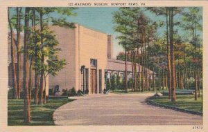 Virginia Newport News Mariners Museum 1948