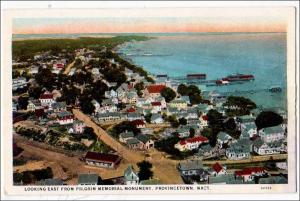 MA - Looking East from Pilgrim Monument, Provincetown, Cape Cod