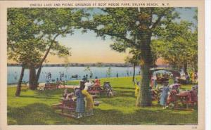 New York Sylvan Beach Oneida Lake and Picnic Grounds At Scot Noose Park