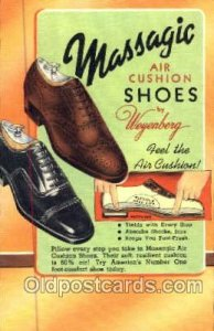 Massagic Shoe Advertising Postcard Postcards Unused