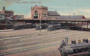OMAHA, Nebraska, 1900-1910s; Union Station
