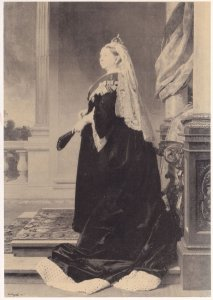 Queen Victoria by Heinrich Von Angeli London Stamp Exhibition Postcard