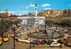 Place de D Pedro IV - Lisboa