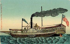 VT - Basin Harbor, Lake Champlain. Steamboat Vermont