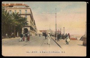 Alger - Le Boulevard de la Republique