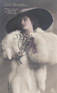 RP; Woman in Fur , 00-10s