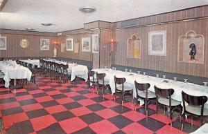 Danny's Hideaway Anniversary Room East 45th St New York NY 1962 Chrome Postcard